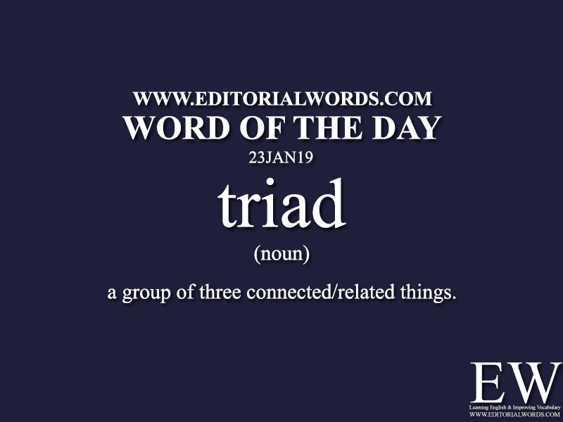 Word of the Day-23JAN19-Editorial Words