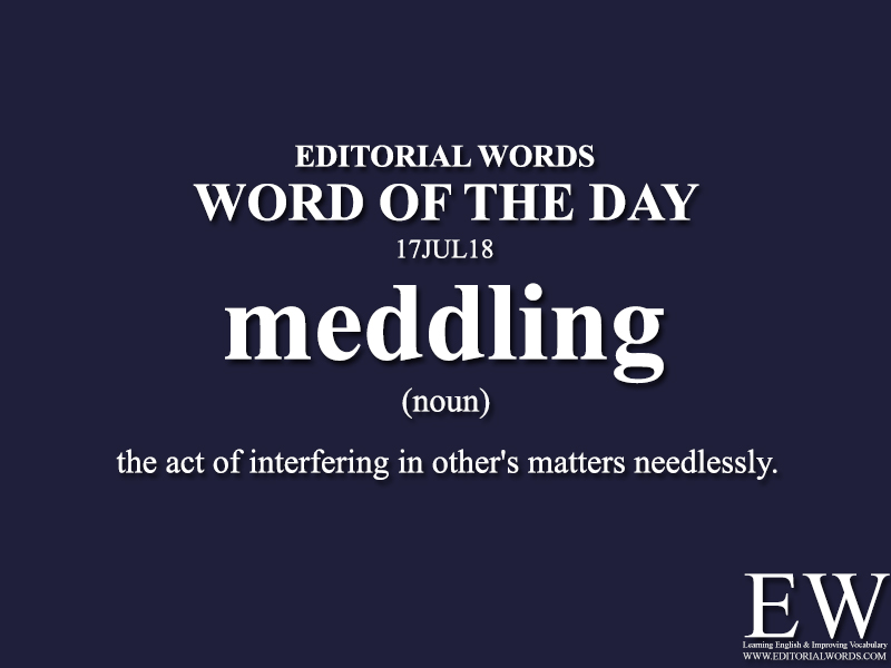 Word of the Day-17JUL18 - Editorial Words