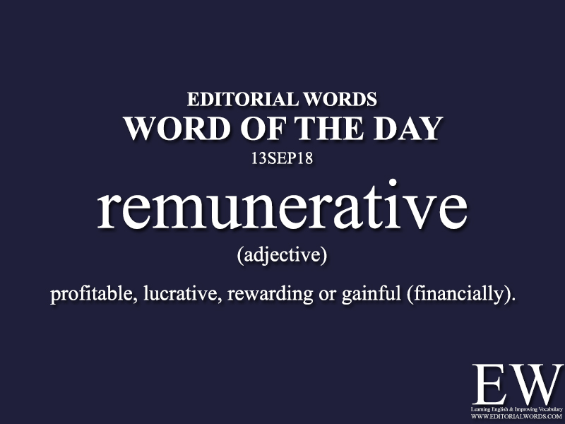 Word of the Day-13SEP18 - Editorial Words