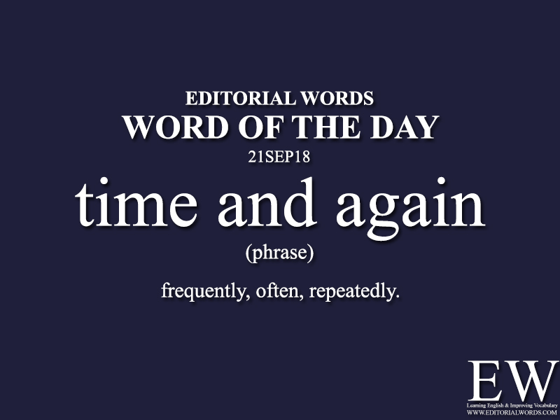 Word of the Day-21SEP18 - Editorial Words