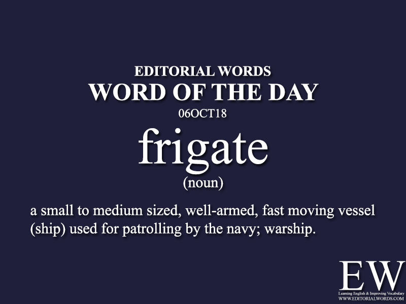 Word of the Day-06OCT18 - Editorial Words