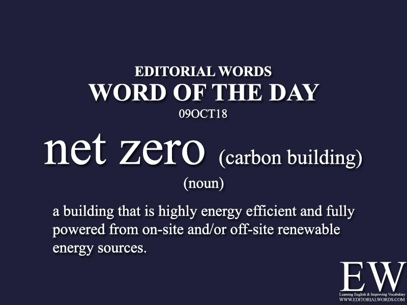 Word of the Day-09OCT18 - Editorial Words