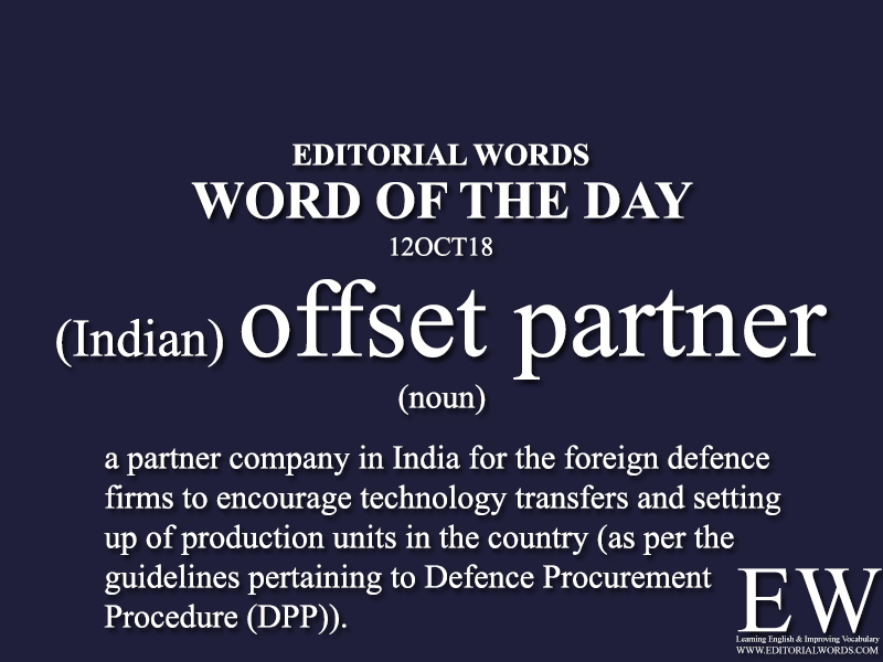 Word of the Day-12OCT18 - Editorial Words