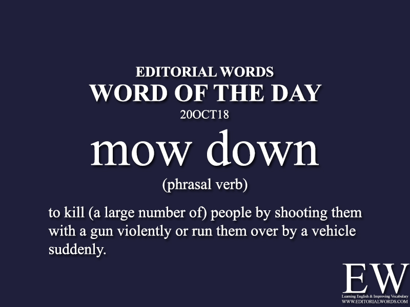 Word of the Day-20OCT18 - Editorial Words