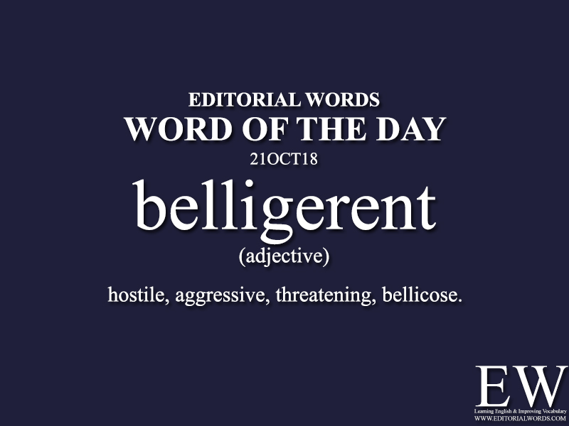 Word of the Day-21OCT18 - Editorial Words