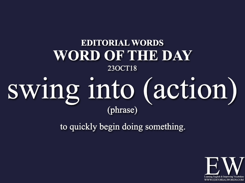 Word of the Day-23OCT18 - Editorial Words