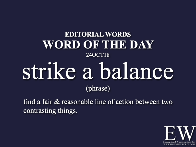 Word of the Day-24OCT18 - Editorial Words