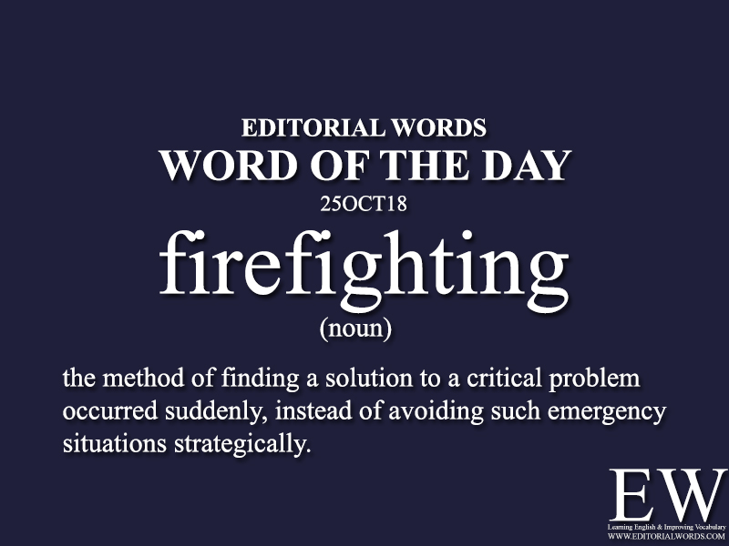 Word of the Day-25OCT18 - Editorial Words