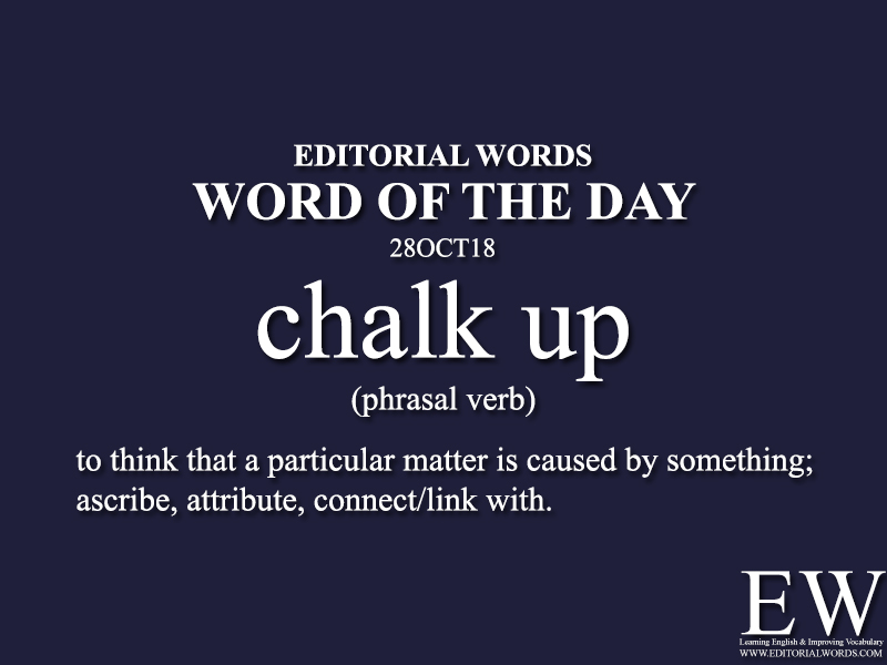 Word of the Day-28OCT18 - Editorial Words