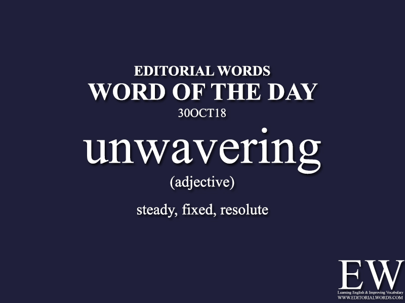 Word of the Day-30OCT18 - Editorial Words