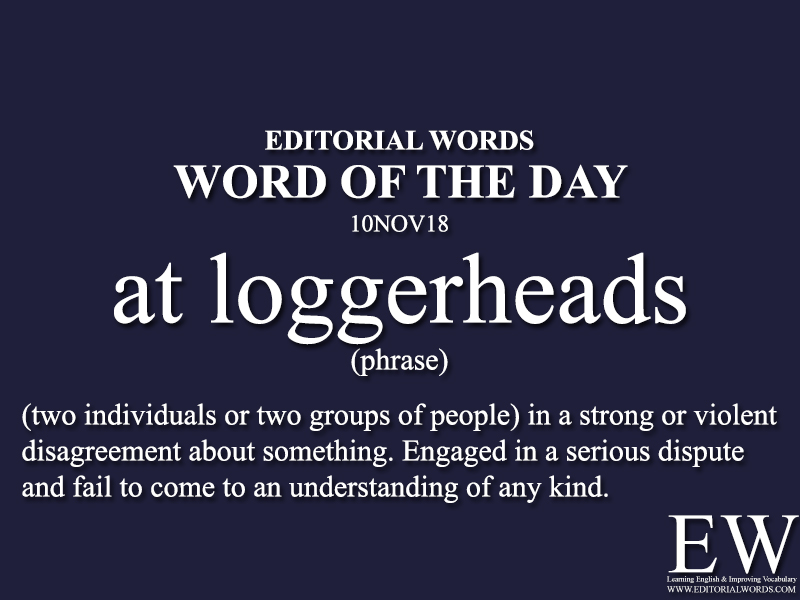 Word of the Day-10NOV18 - Editorial Words