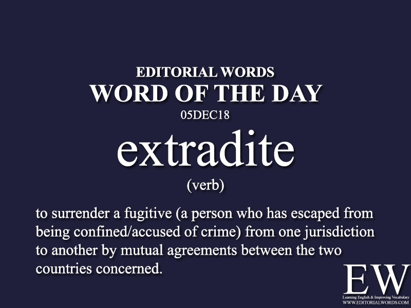 Word of the Day-05DEC18-Editorial Words