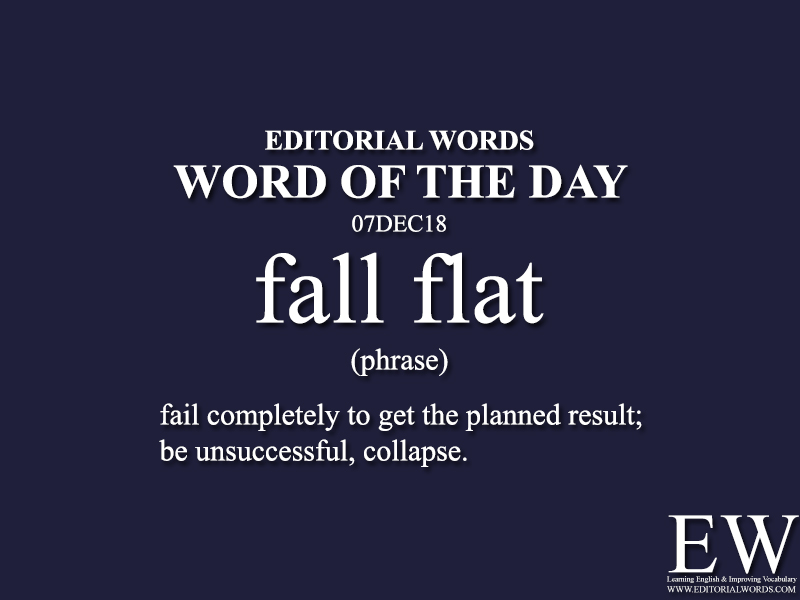 Word of the Day-07DEC18-Editorial Words