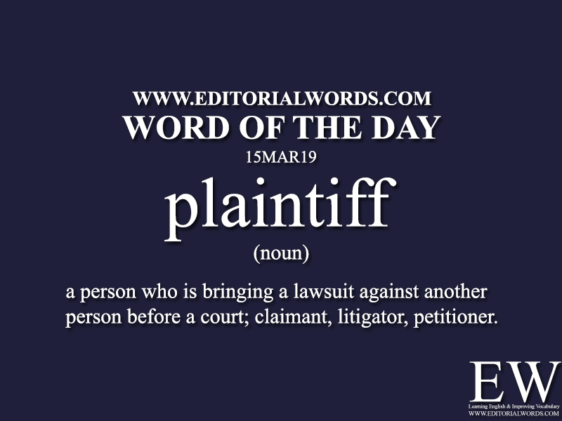 Word of the Day-15MAR19-Editorial Words