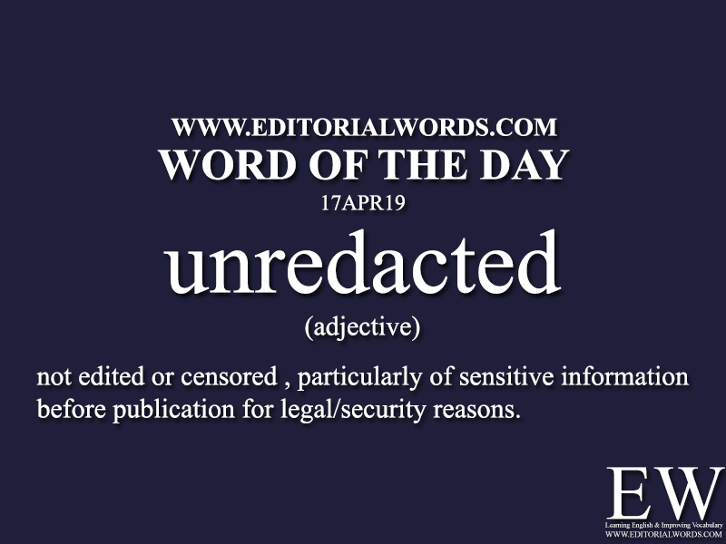 Word of the Day-17APR19-Editorial Words