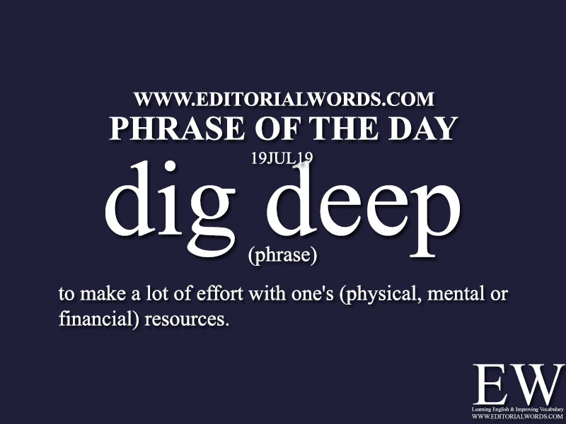 Phrase of the Day-19JUL19-Editorial Words