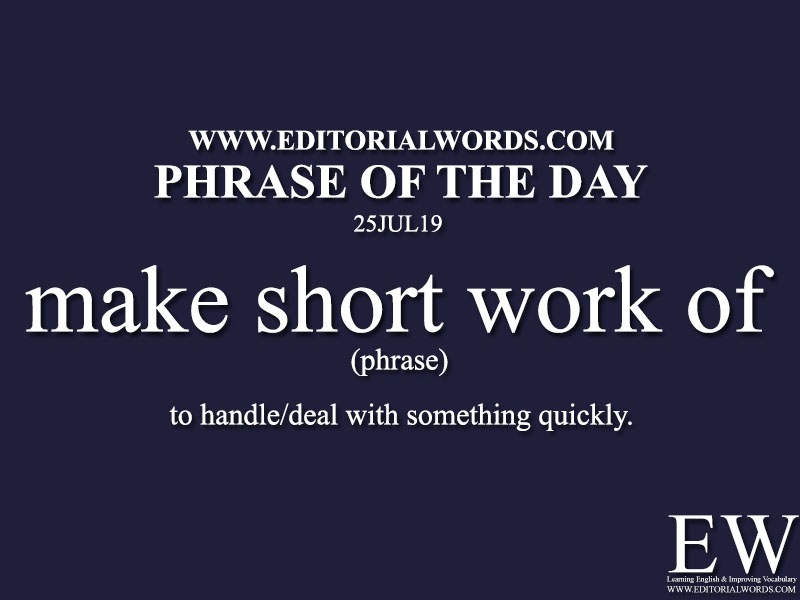 Phrase of the Day-25JUL19-Editorial Words