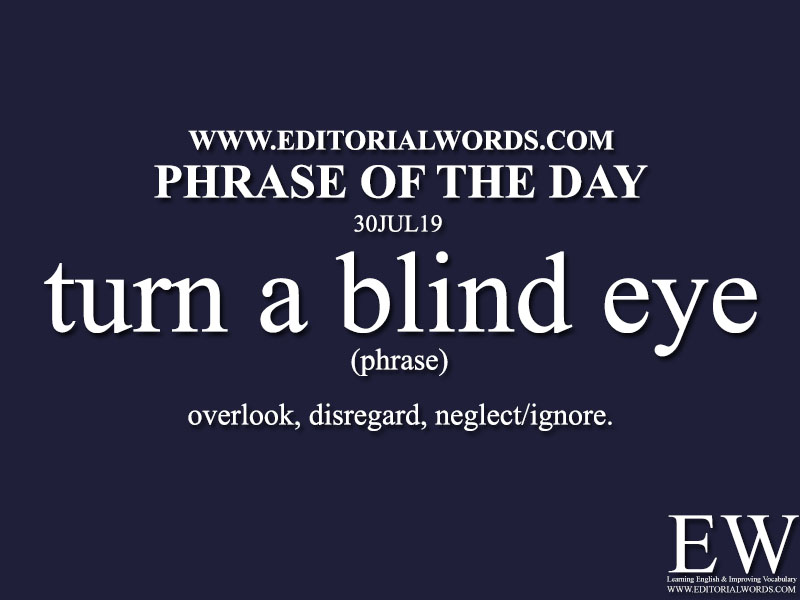 Phrase of the Day-30JUL19-Editorial Words