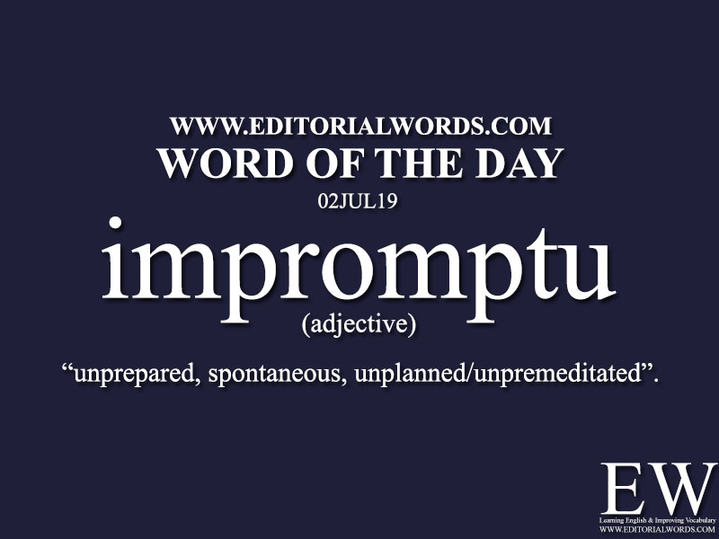 Word of the Day-02JUL19-Editorial Words