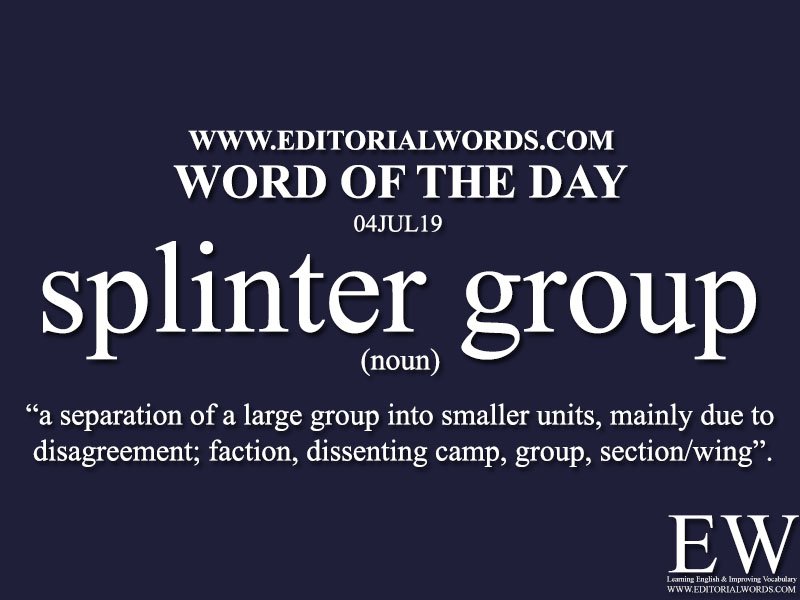 Word of the Day-04JUL19-Editorial Words