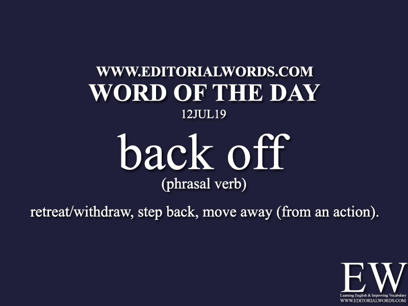 Word of the Day-12JUL19-Editorial Words