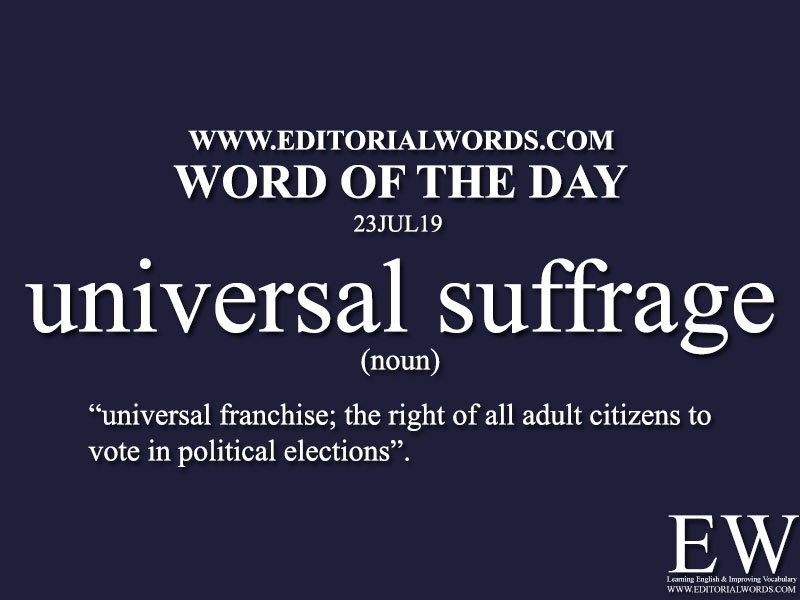 Word of the Day-23JUL19-Editorial Words