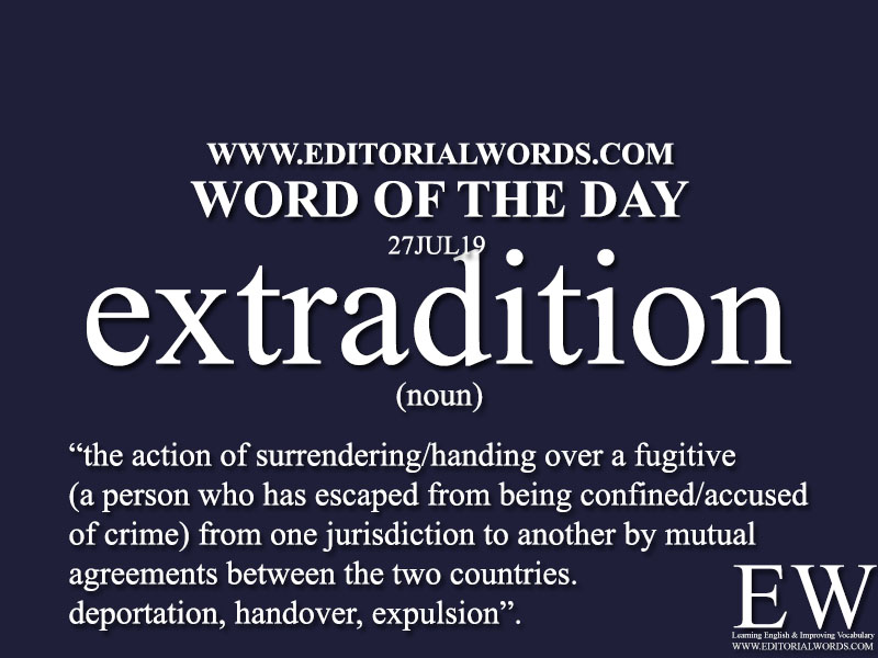 Word of the Day-27JUL19-Editorial Words