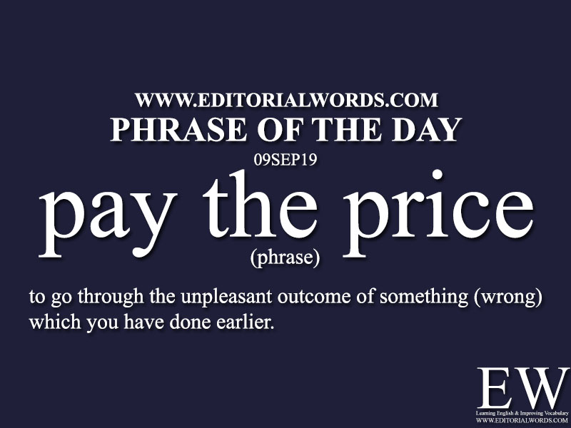 Phrase of the Day-09SEP19-Editorial Words