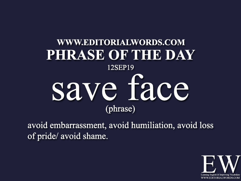 Phrase of the Day-12SEP19-Editorial Words