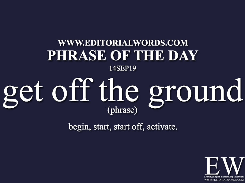 Phrase of the Day-14SEP19-Editorial Words