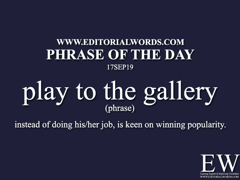 Phrase of the Day-17SEP19-Editorial Words
