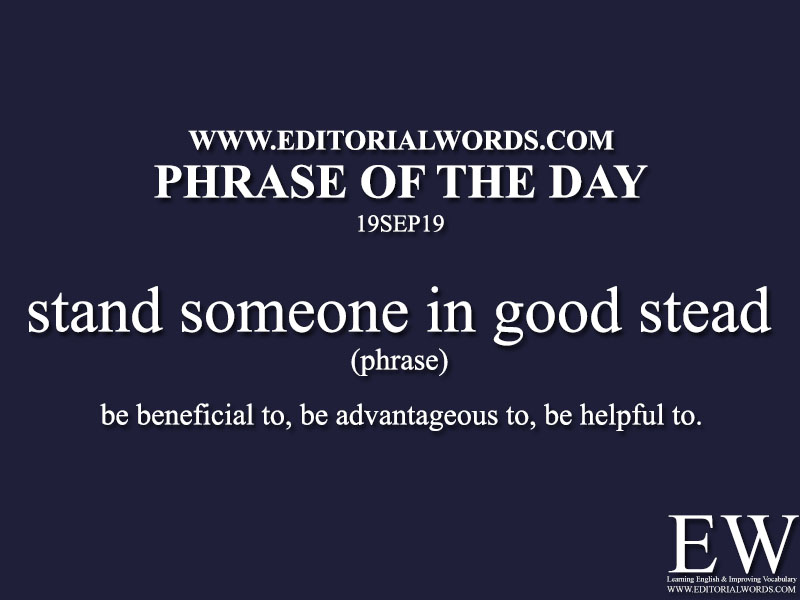 Phrase of the Day-19SEP19-Editorial Words