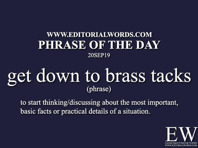 Phrase of the Day-20SEP19-Editorial Words
