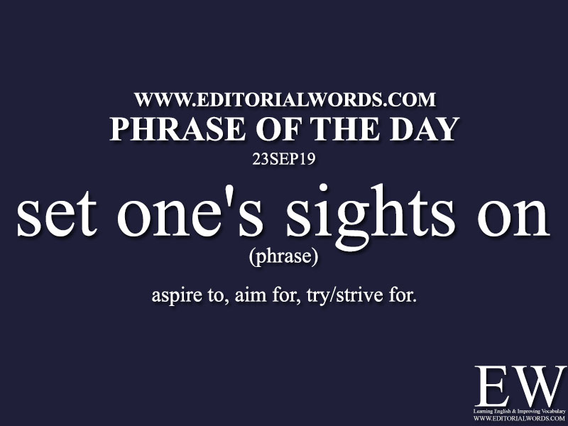 Phrase of the Day-23SEP19-Editorial Words