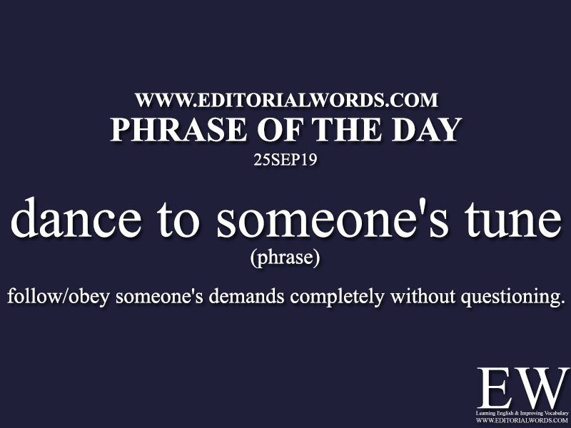 Phrase of the Day-25SEP19-Editorial Words