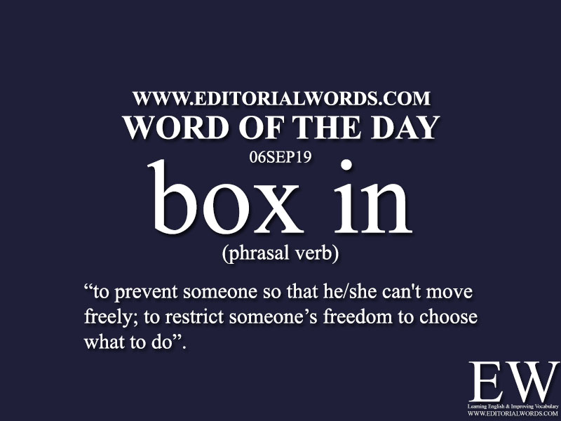 Word of the Day-06SEP19-Editorial Words