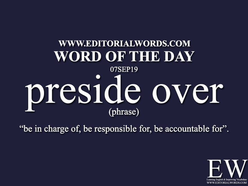 Word of the Day-07SEP19-Editorial Words