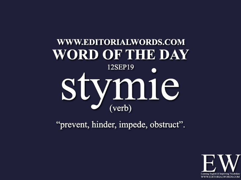 Word of the Day-12SEP19-Editorial Words