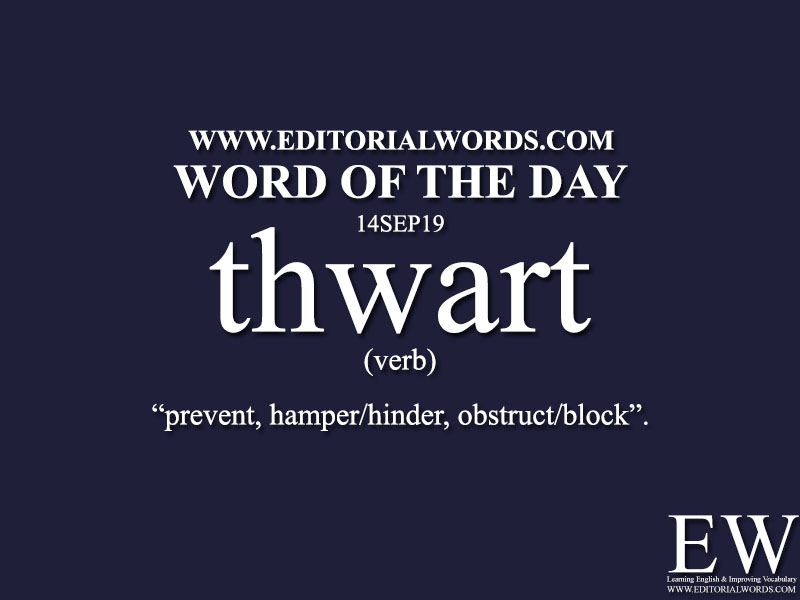 Word of the Day-14SEP19-Editorial Words