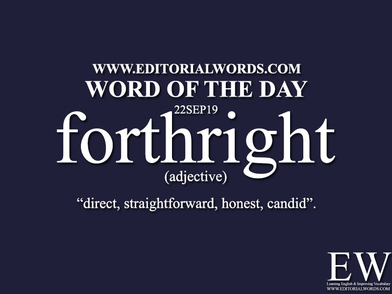 Word of the Day-22SEP19-Editorial Words