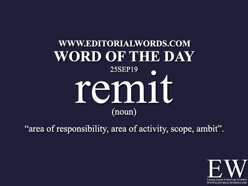 Word of the Day-25SEP19-Editorial Words