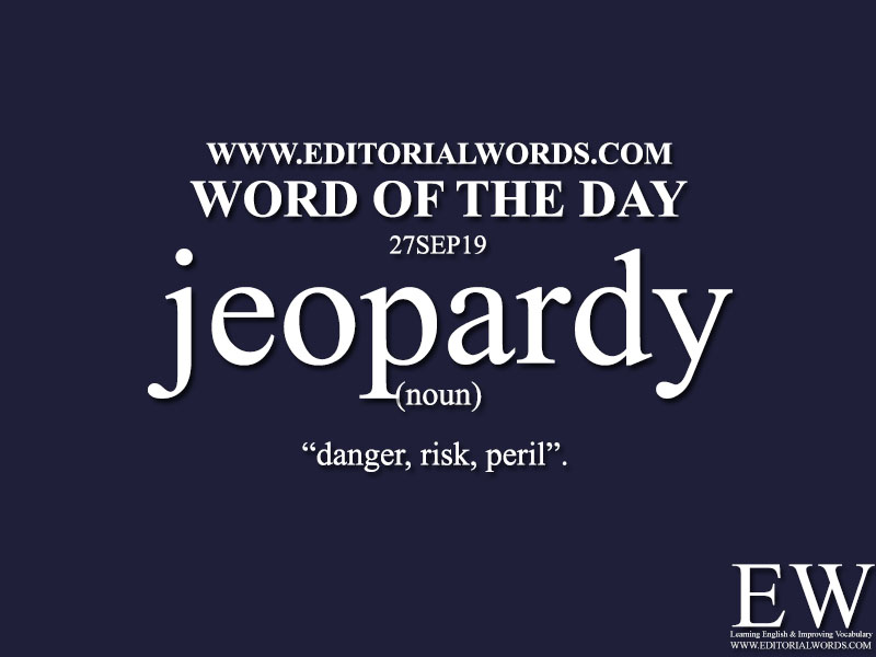Word of the Day-27SEP19-Editorial Words