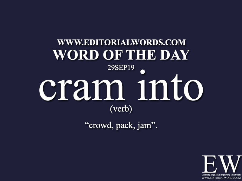 Word of the Day-29SEP19-Editorial Words