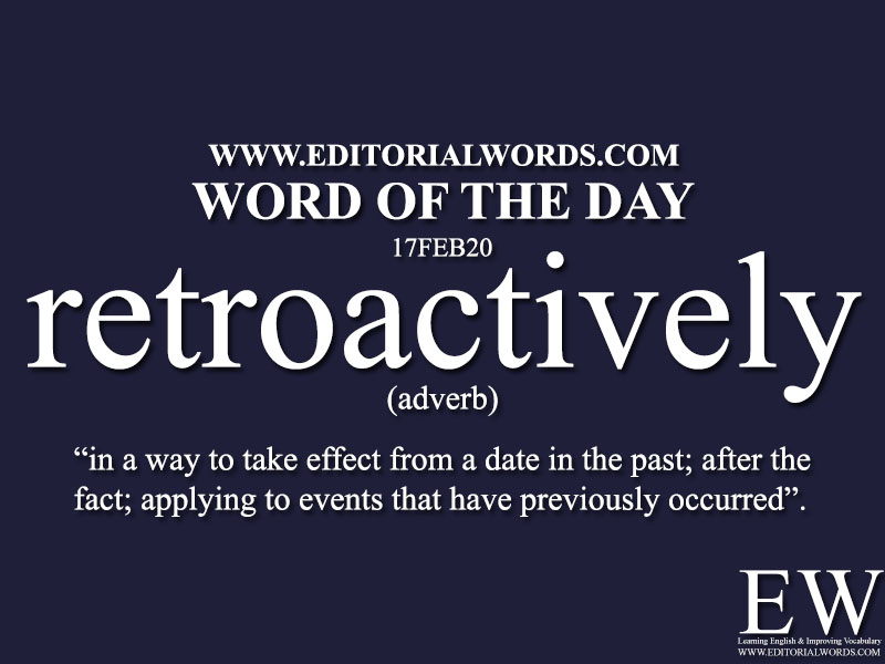 Word of the Day (retroactively)-17FEB20