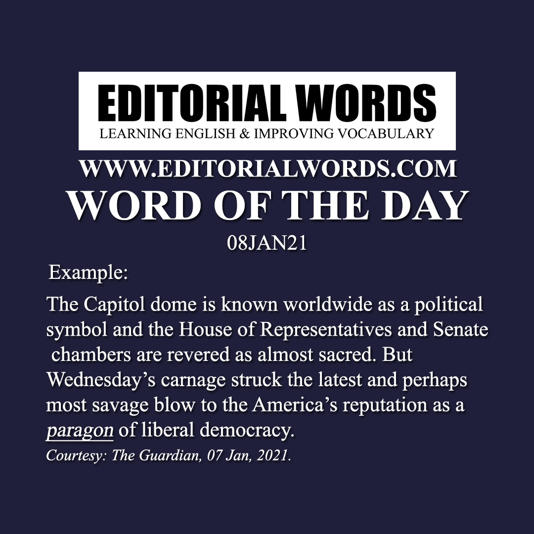 Word of the Day (paragon)-08JAN21
