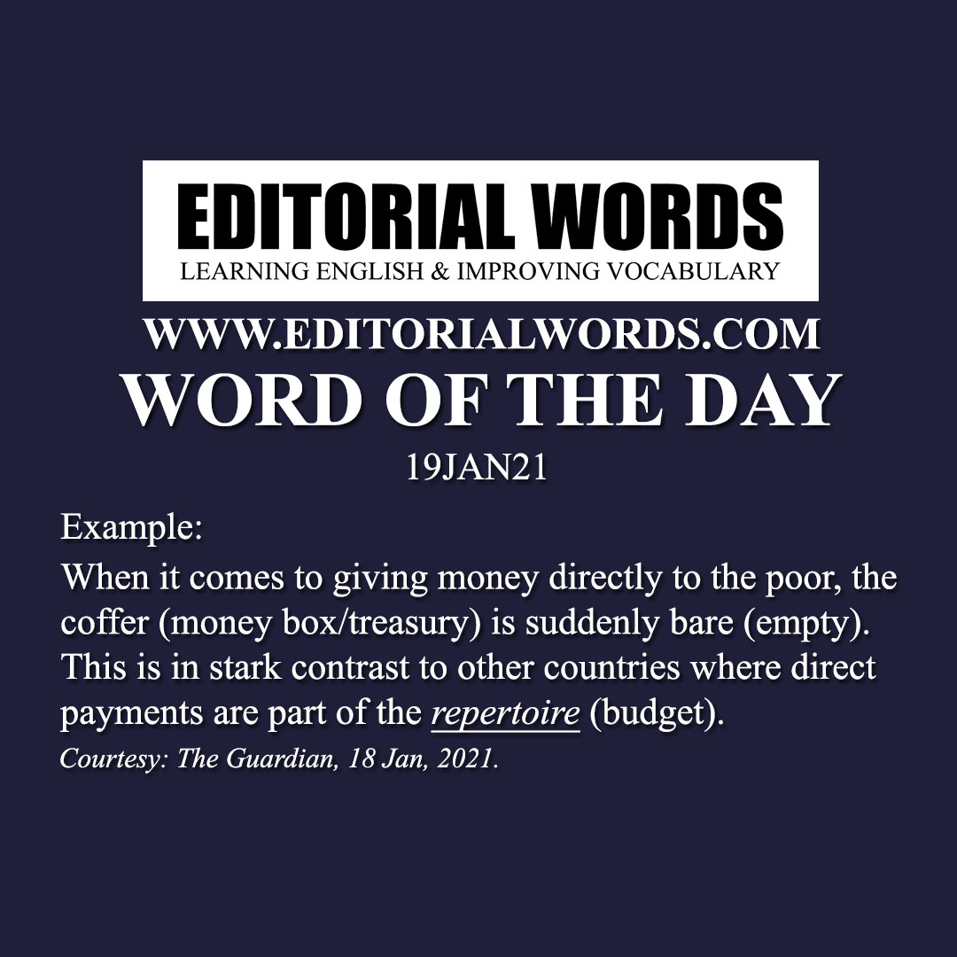 Word of the Day (repertoire)-19JAN21
