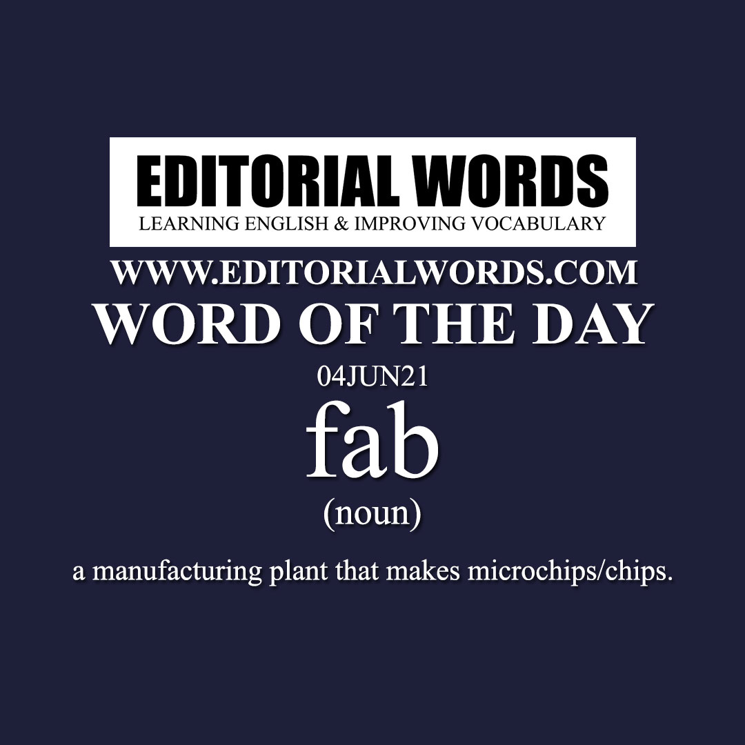 Word of the Day (fab)-04JUN21